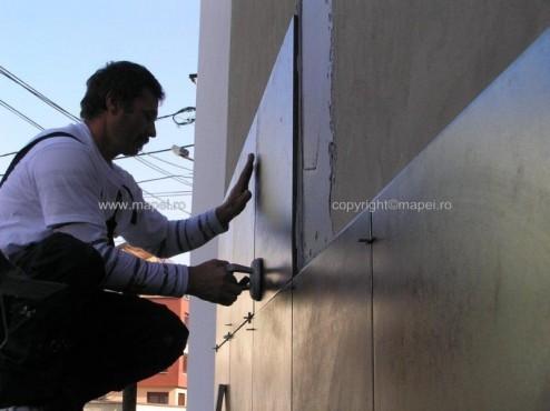 Executie, montaj Keralastic T_13 montaj gresie fatada MAPEI - Poza 13