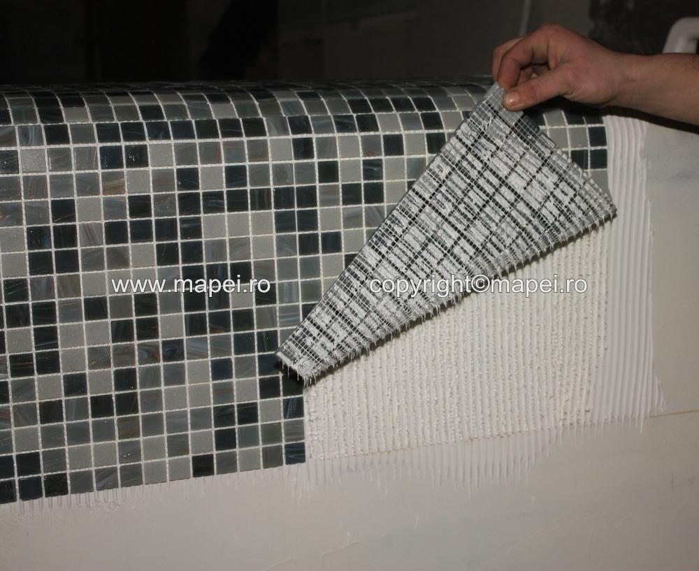 10. Adeziv insuficient pe mozaic MAPEI - Poza 10