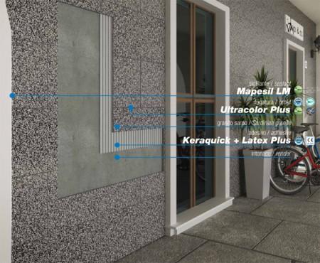 Exemple de utilizare Ultracolor Plus_2 chit rost fatada expo_18_def MAPEI - Poza 2