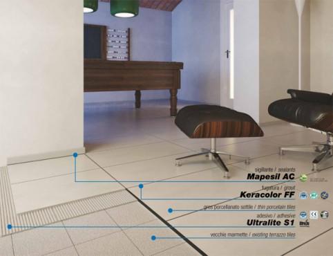 Exemple de utilizare Keracolor FF_1 chit rost gresie lastra_13_def MAPEI - Poza 1