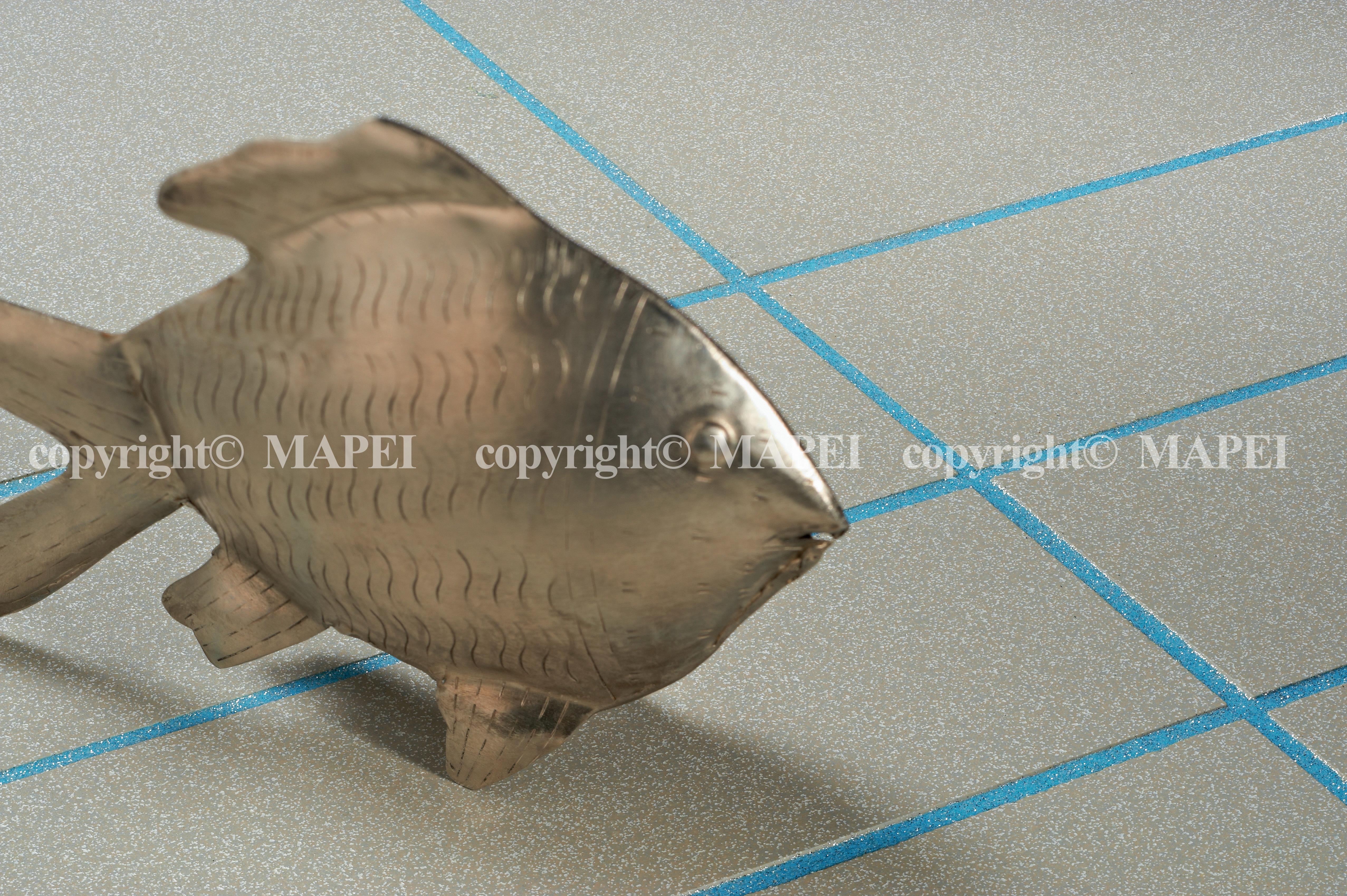 16. pardoseala gresie antiacida Kerapoxy Design MAPEI - Poza 17