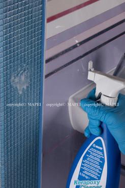 Executie, montaj detergent chit epoxidic MAPEI - Poza 1