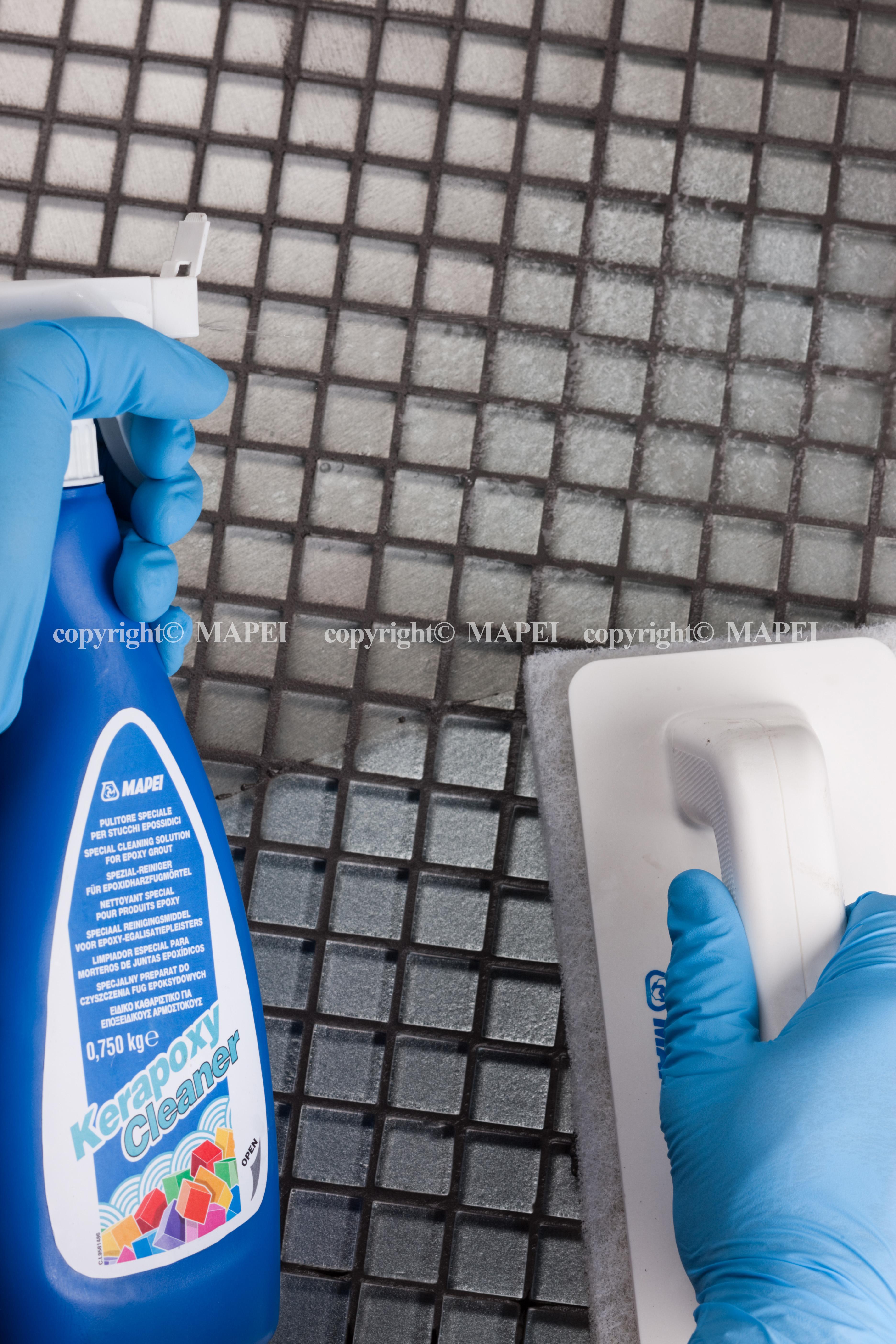 detergent chit epoxidic si drisca cu pad abraziv MAPEI - Poza 2