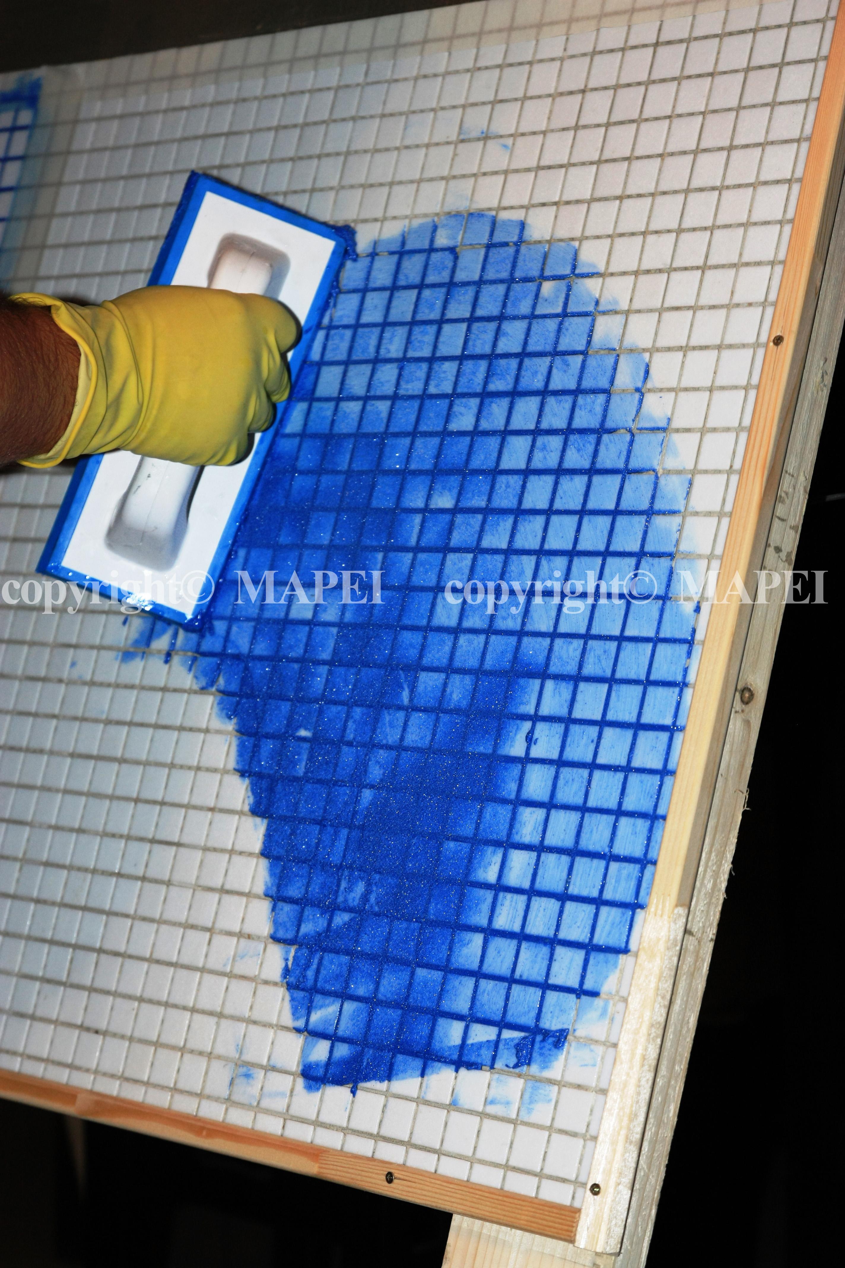 15. spatula aplicare chit rosturi mozaic MAPEI - Poza 15
