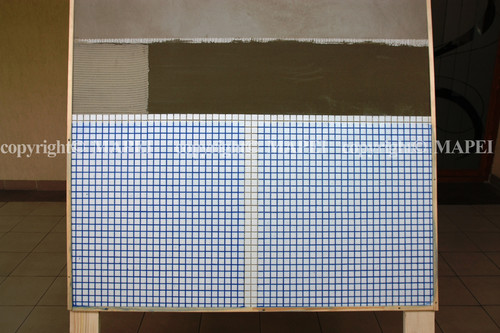 Executie, montaj 31. sistem montaj mozaic pentru piscine MAPEI - Poza 31