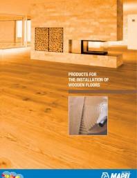 Materiale montaj, finisare si intretinere parchet 2011
