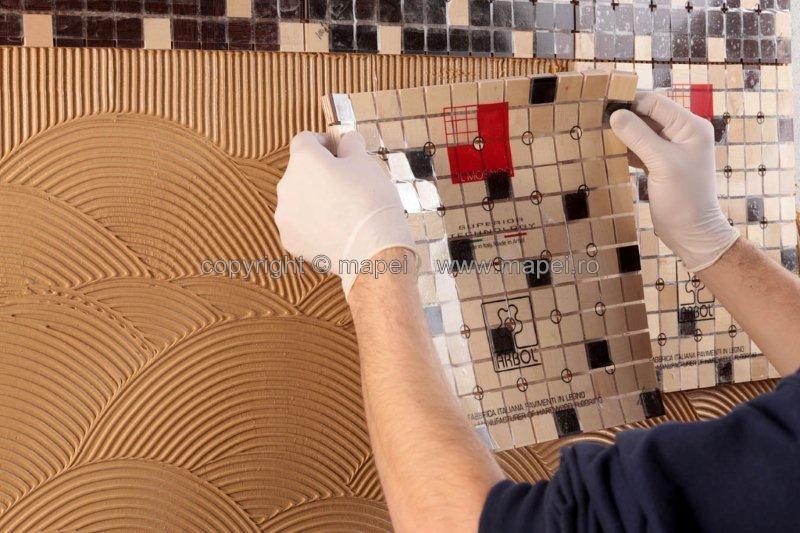 Adeziv silanic monocomponent, tixotropic, elastic, fara apa sau solventi, cu intarire la umiditate MAPEI - Poza 4