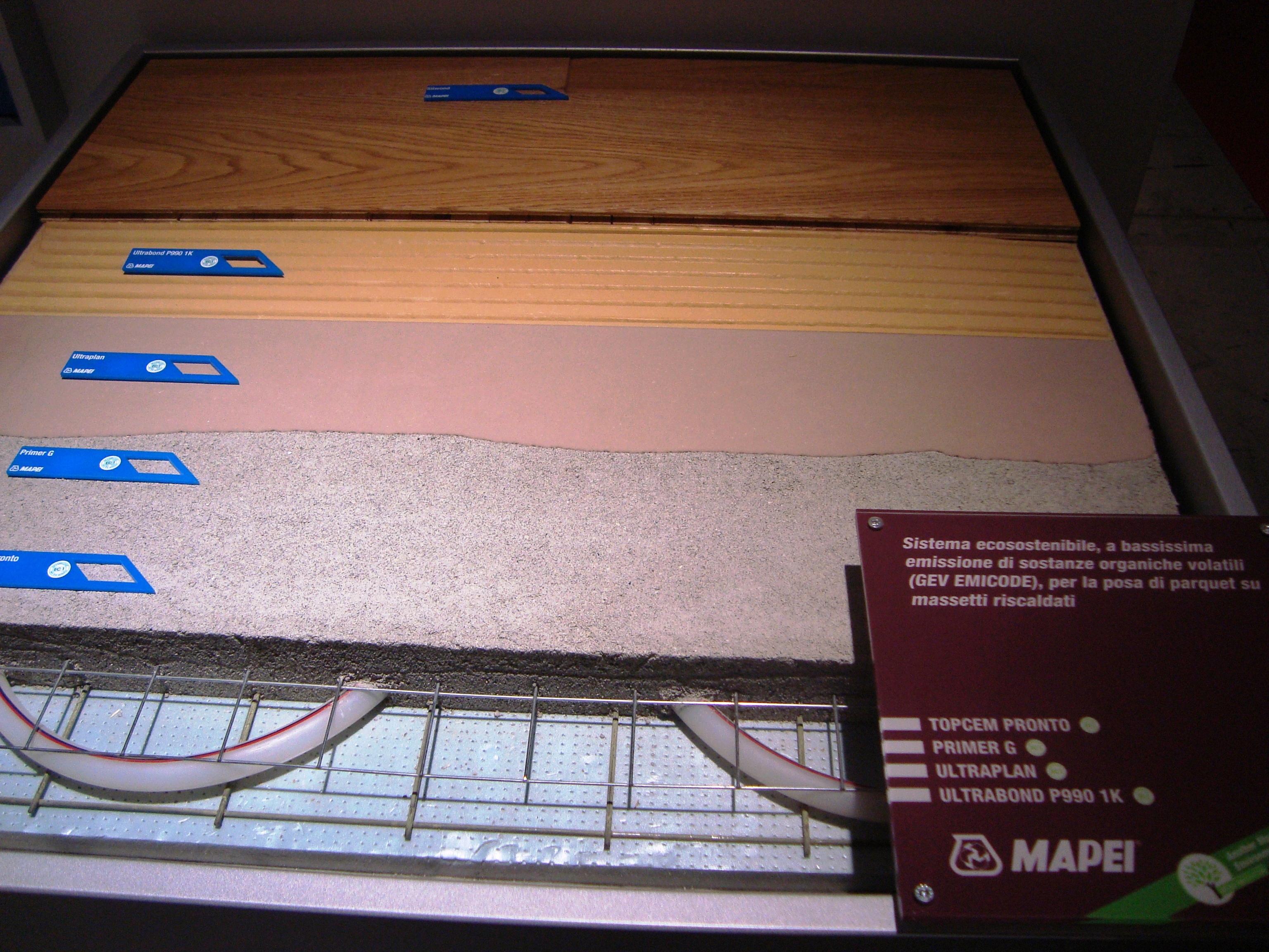 Sistem montaj parchet pe sapa cu sistem de incalzire MAPEI - Poza 5