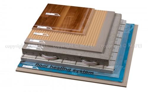 Exemple de utilizare Sistem montaj parchet pe sapa cu sistem de incalzire MAPEI - Poza 4