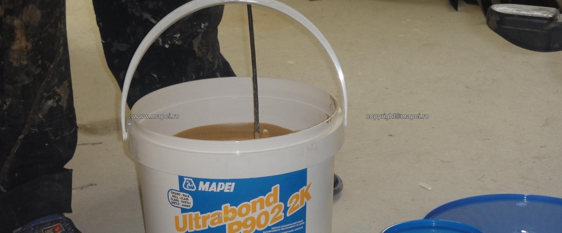 4 Preparare adeziv parchet Ultrabond P902 2K MAPEI - Poza 4