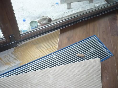 Executie, montaj 8-Montaj-parchet-ventiloconvector-detaliu MAPEI - Poza 8