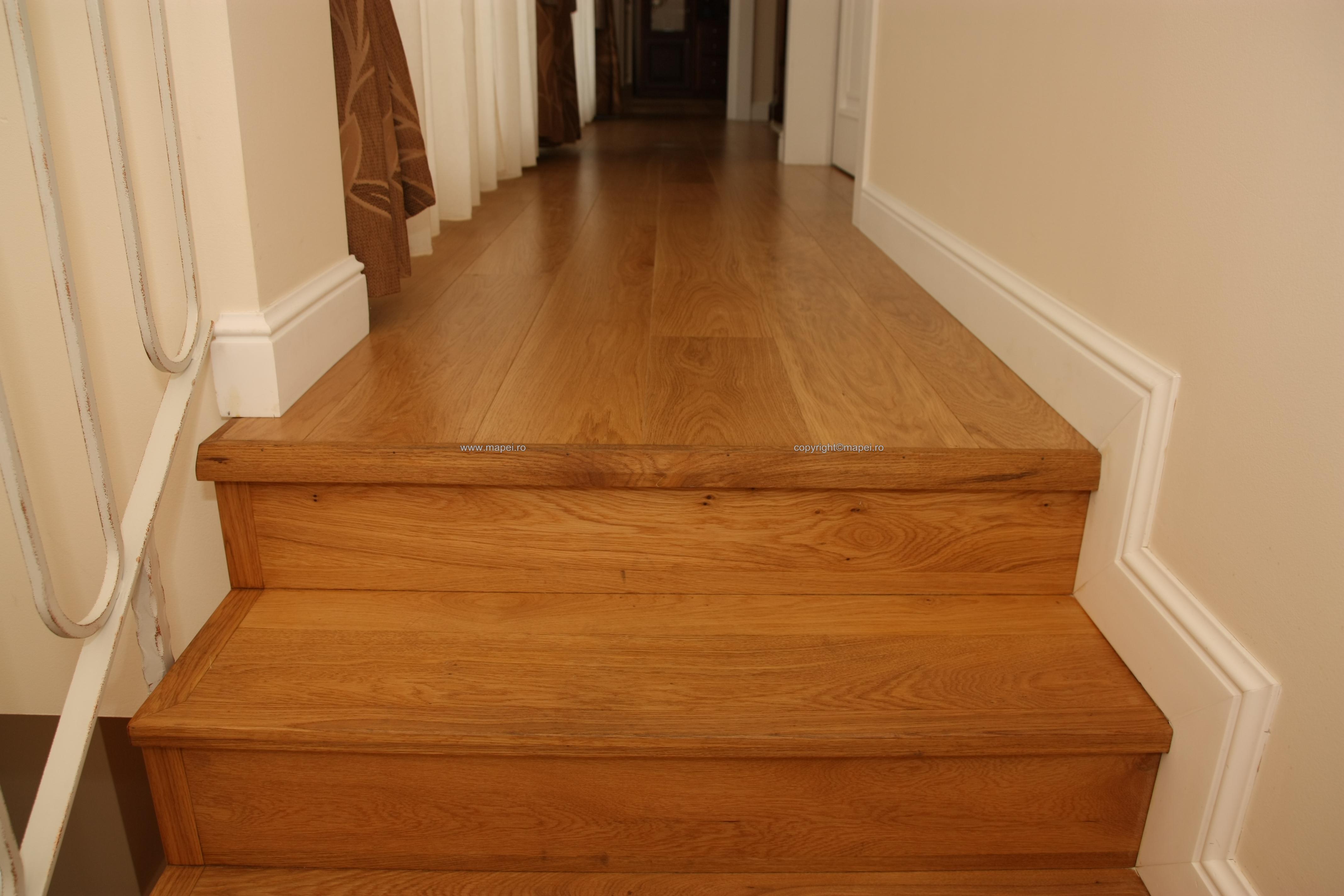 19 Montaj scari din lemn adeziv Mapei MAPEI - Poza 19
