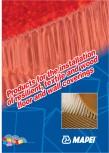 Produse pentru montarea imbracamintilor vinilice, textile si cauciuc pentru pereti si pardoseli MAPEI