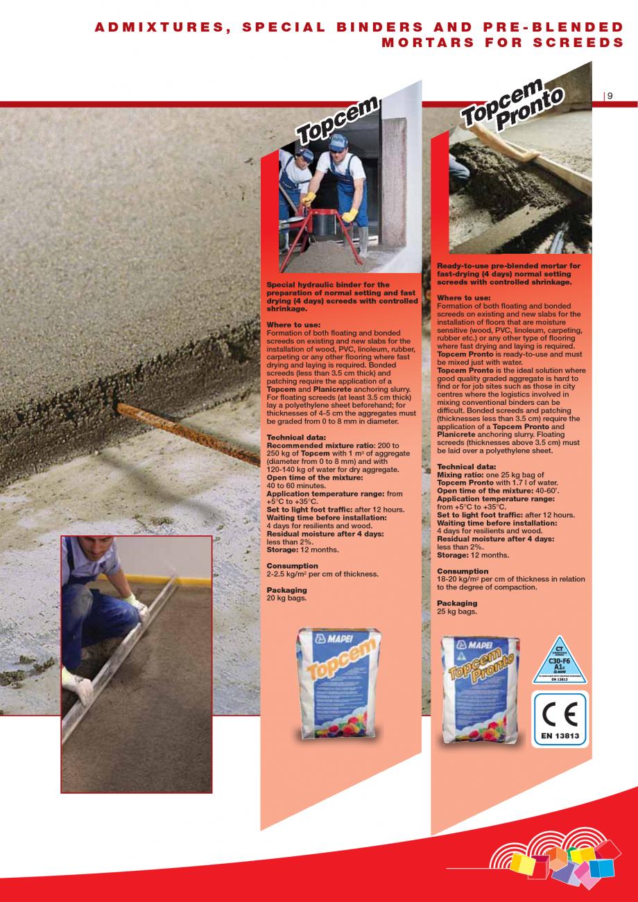 Pagina 11 - Produse pentru montarea imbracamintilor vinilice, textile si cauciuc pentru pereti si...
