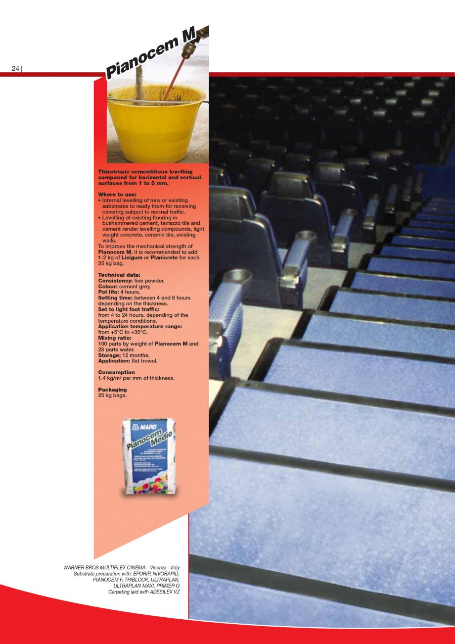 Pagina 26 - Produse pentru montarea imbracamintilor vinilice, textile si cauciuc pentru pereti si...
