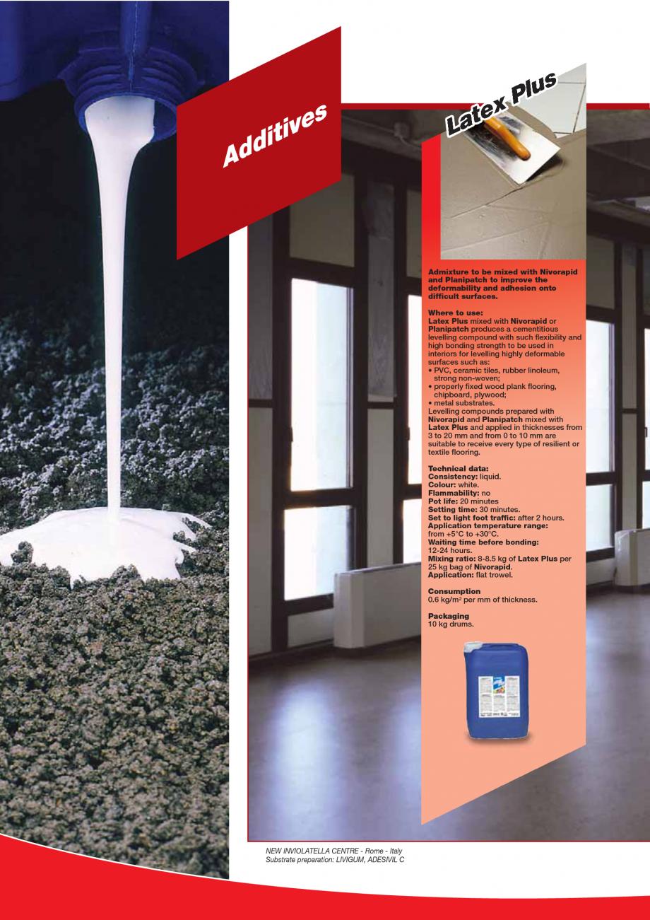 Pagina 28 - Produse pentru montarea imbracamintilor vinilice, textile si cauciuc pentru pereti si...