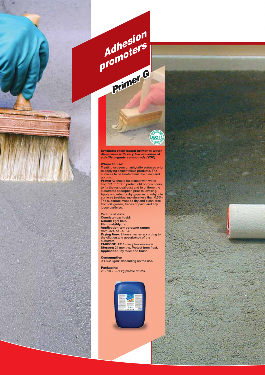 Pagina 78 - Produse pentru montarea imbracamintilor vinilice, textile si cauciuc pentru pereti si...