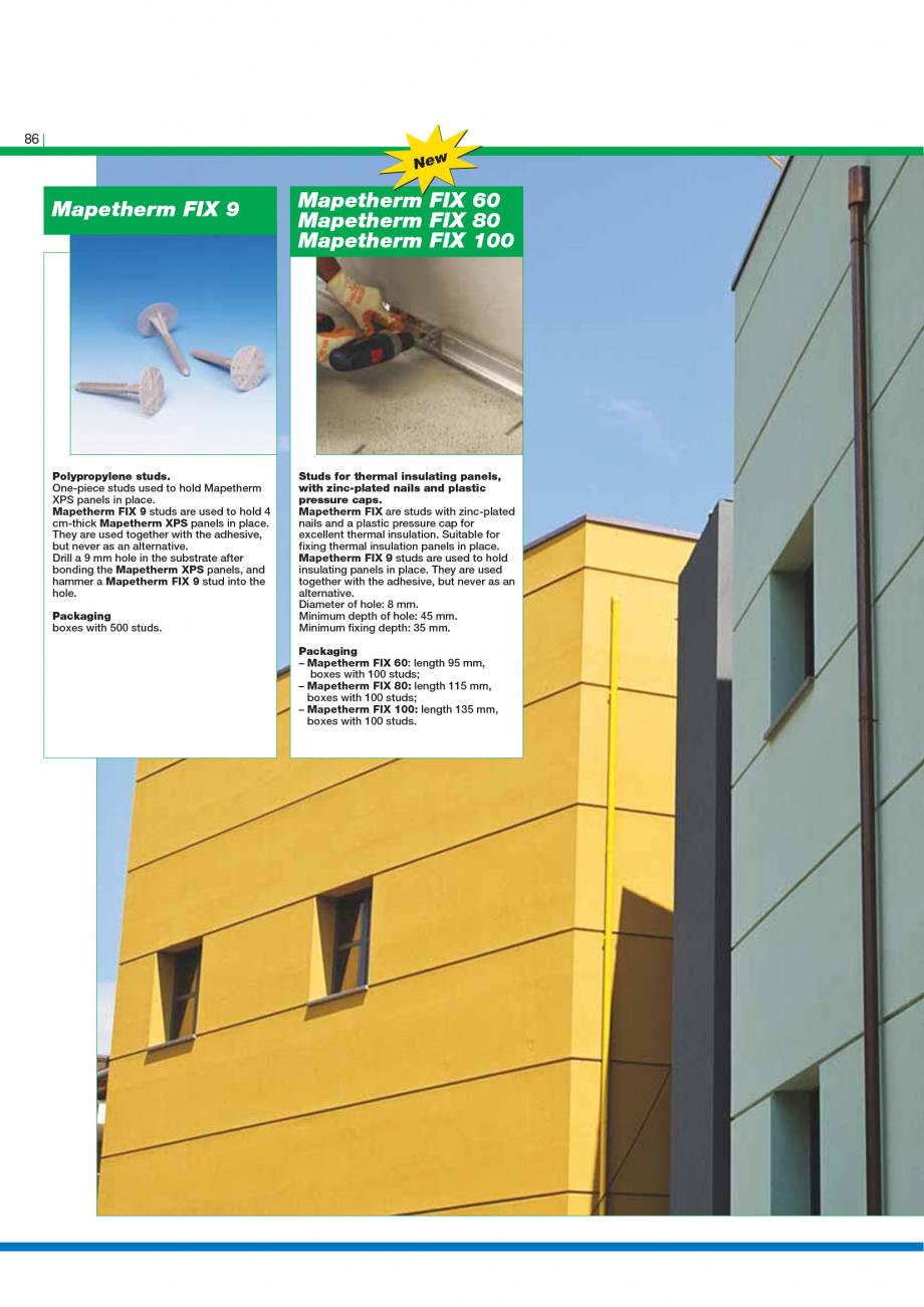 Pagina 88 - Catalog mortare, materiale speciale MAPEI Catalog, brosura Engleza r levelling off...