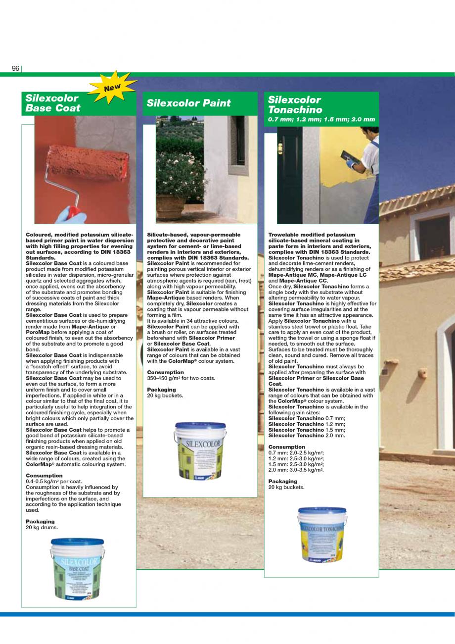 Pagina 98 - Catalog mortare, materiale speciale MAPEI Catalog, brosura Engleza G4  Thixotropic epoxy...
