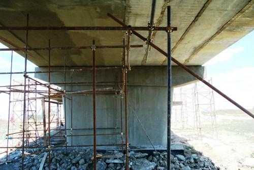 Lucrari de referinta Reparatii pod (DN2), Km. 33 - 028, peste raul Calnistea MAPEI - Poza 108
