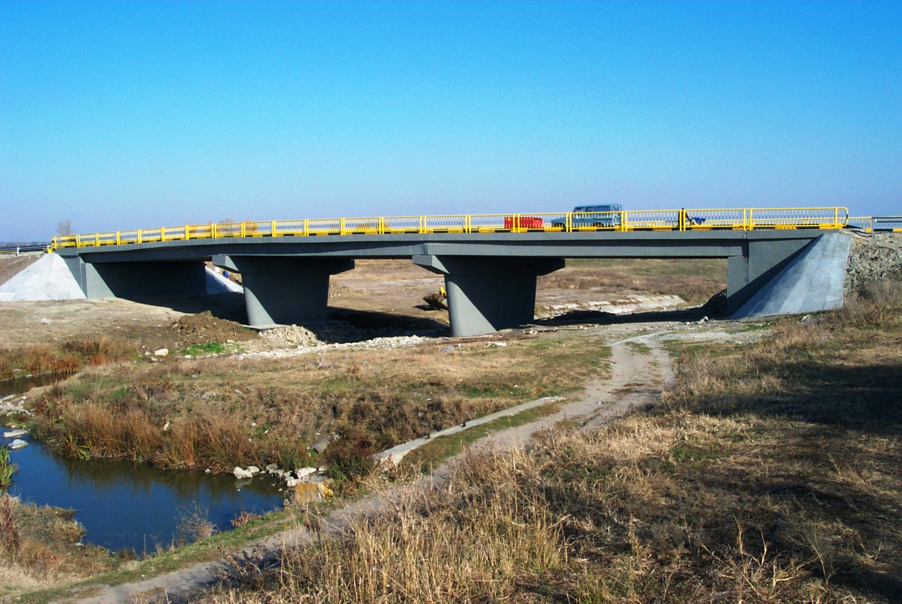 Reparatii pod (DN2), Km. 33 - 028, peste raul Calnistea MAPEI - Poza 117