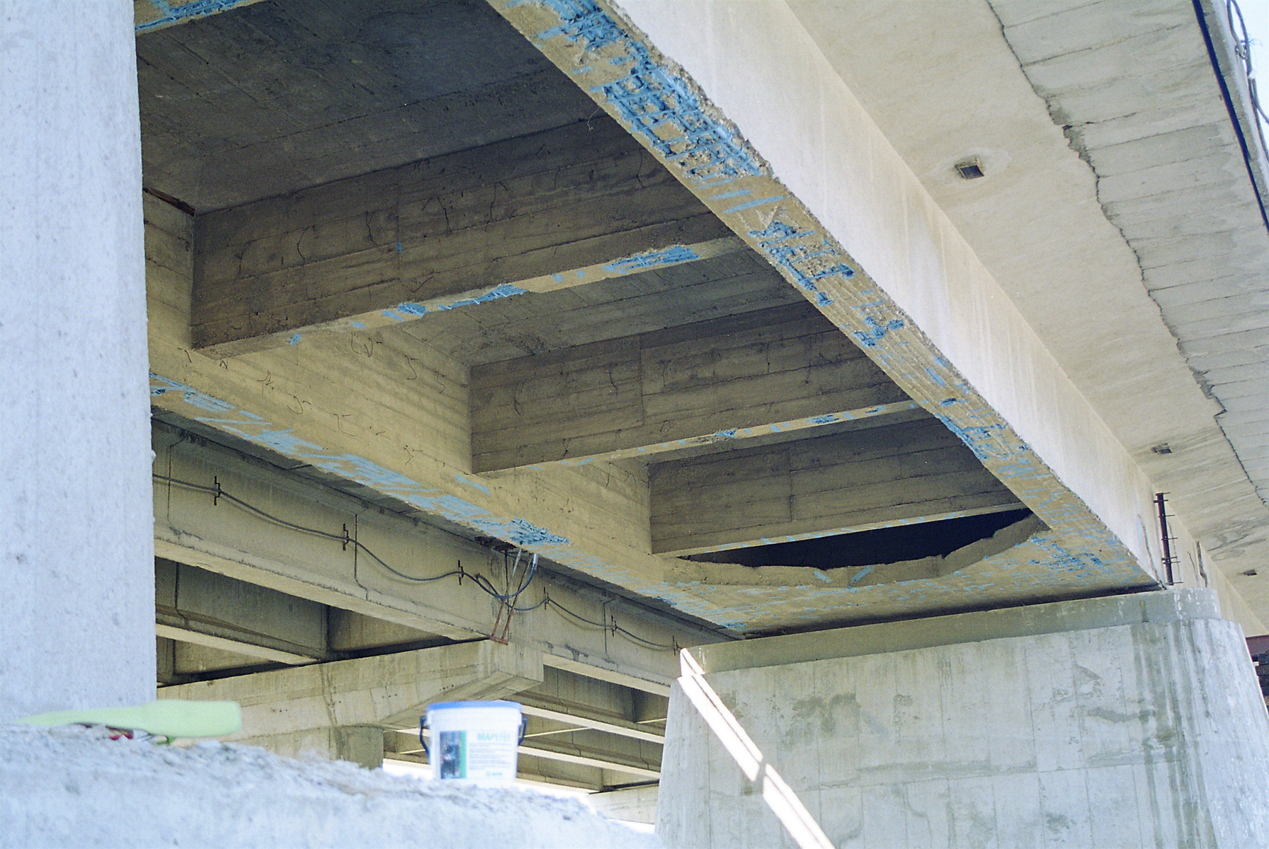 Reparatii pod Roman peste raul Moldova MAPEI - Poza 149
