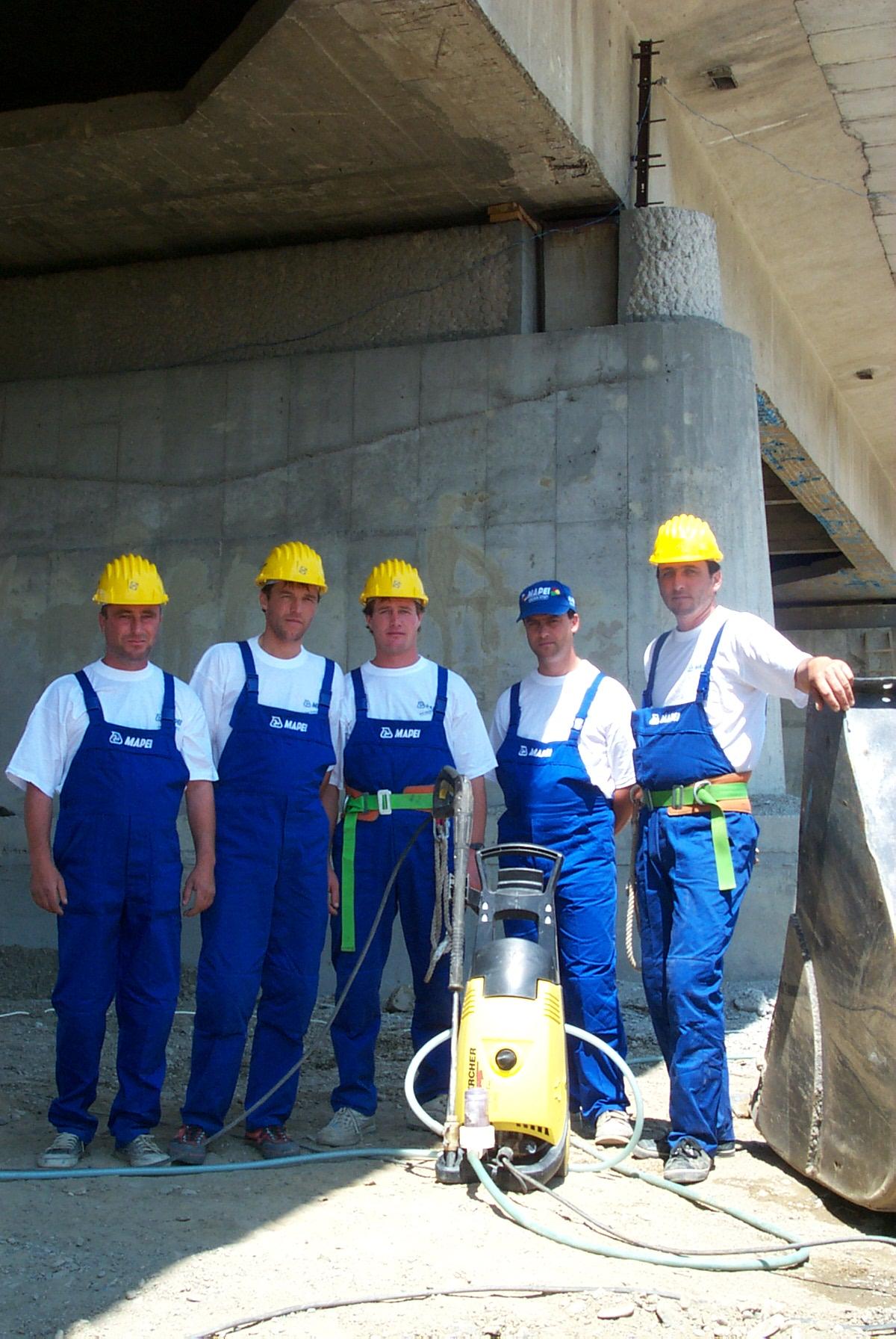 Reparatii pod Roman peste raul Moldova MAPEI - Poza 133