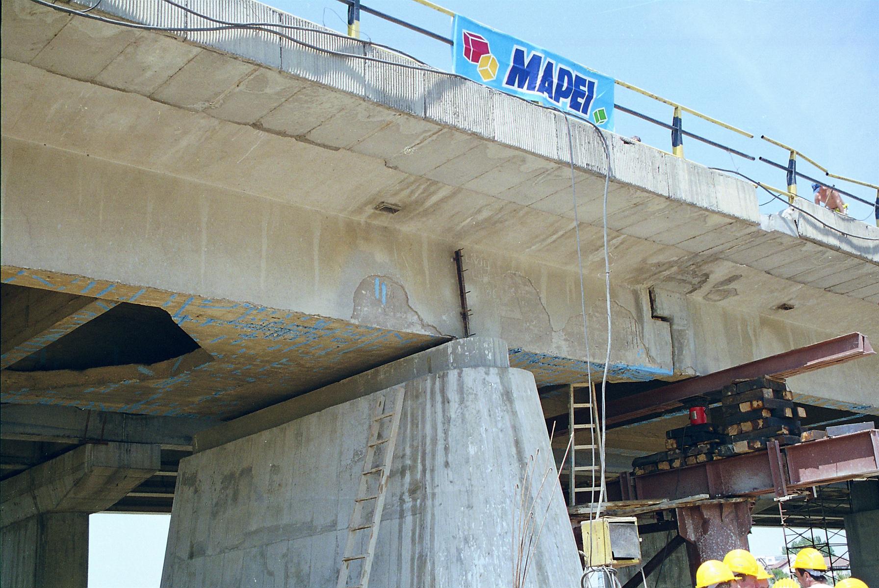 Reparatii pod Roman peste raul Moldova MAPEI - Poza 152