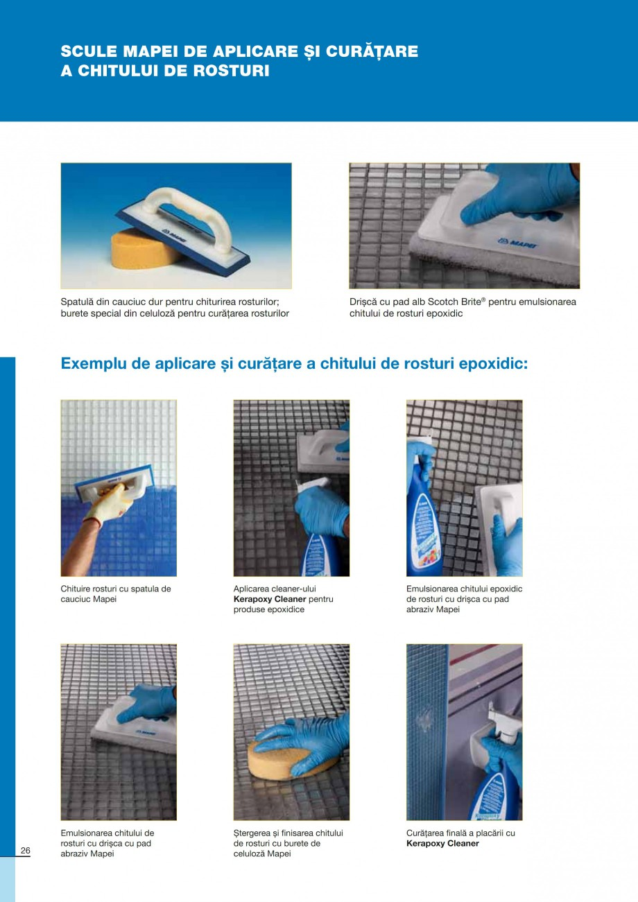 Pagina 26 - Ghid constructia piscinelor din beton armat MAPEI Catalog, brosura Romana :  60 minute ...