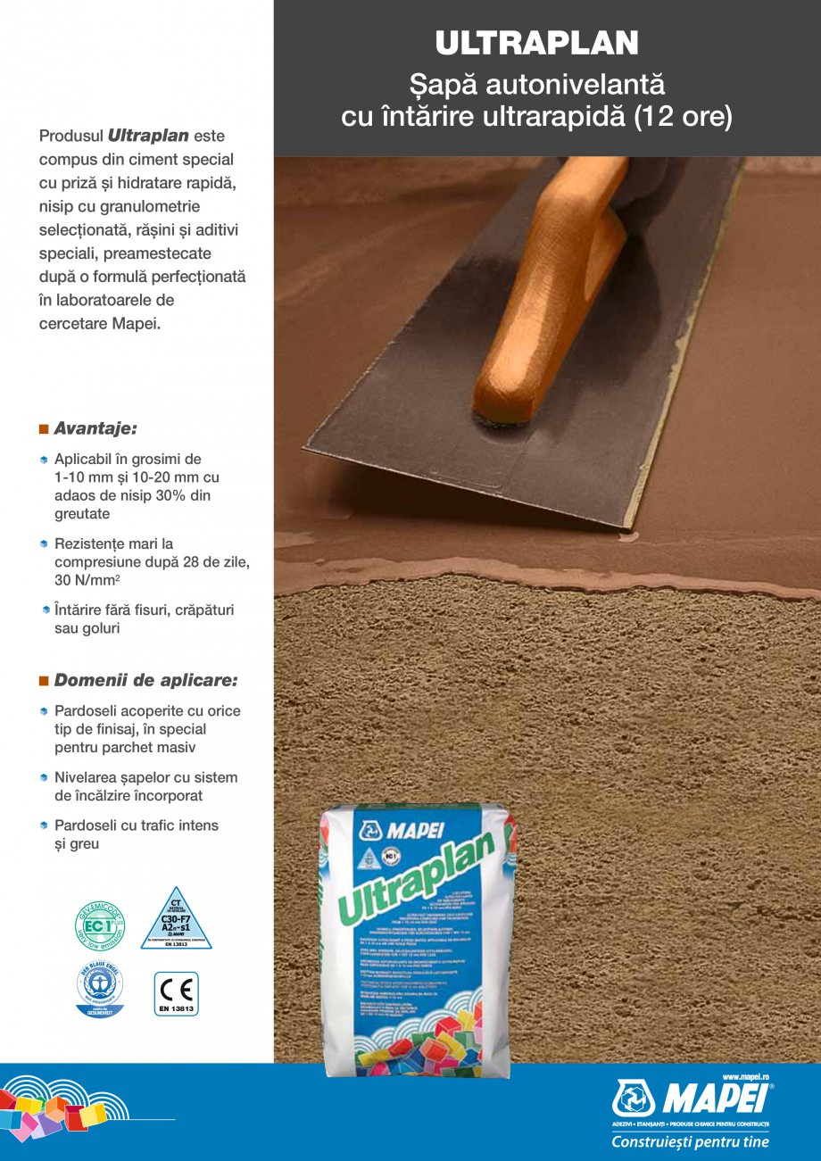 Pagina 13 - Produse pentru montarea placilor ceramice si a placilor din piatra naturala MAPEI...
