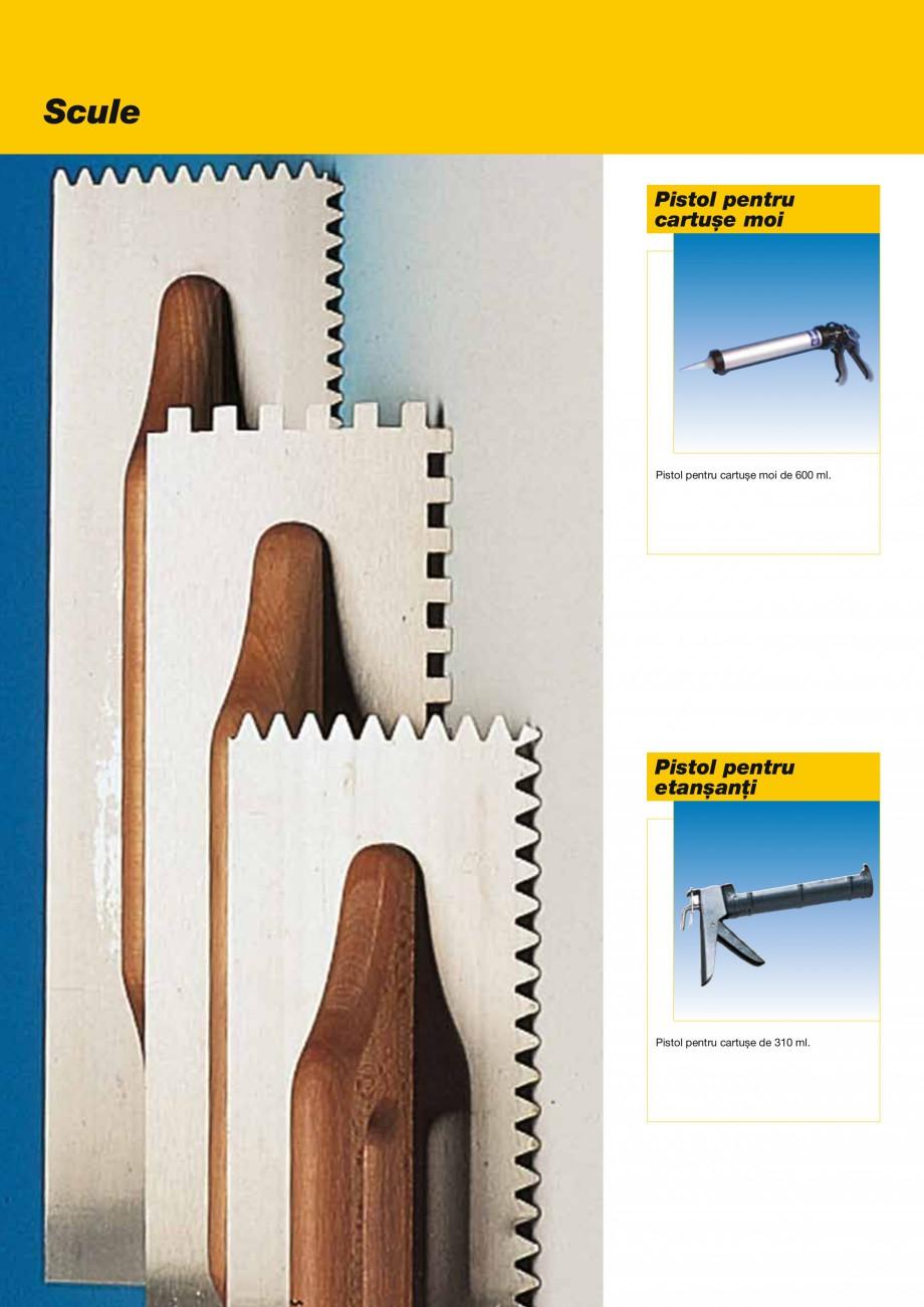 Pagina 46 - Produse pentru montarea placilor ceramice si a placilor din piatra naturala MAPEI...
