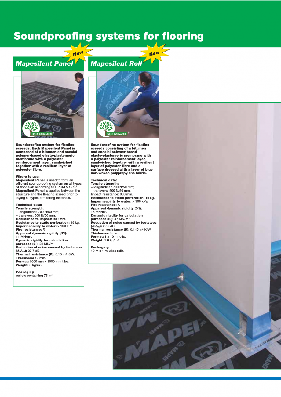 Pagina 10 - Catalog mortare, materiale speciale MAPEI Mapegrout Easy Flow GF, Mapegrout SV,...