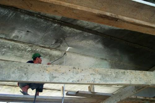 Lucrari de referinta Reparatii pod (DN2), Km. 33 - 028, peste raul Calnistea MAPEI - Poza 5