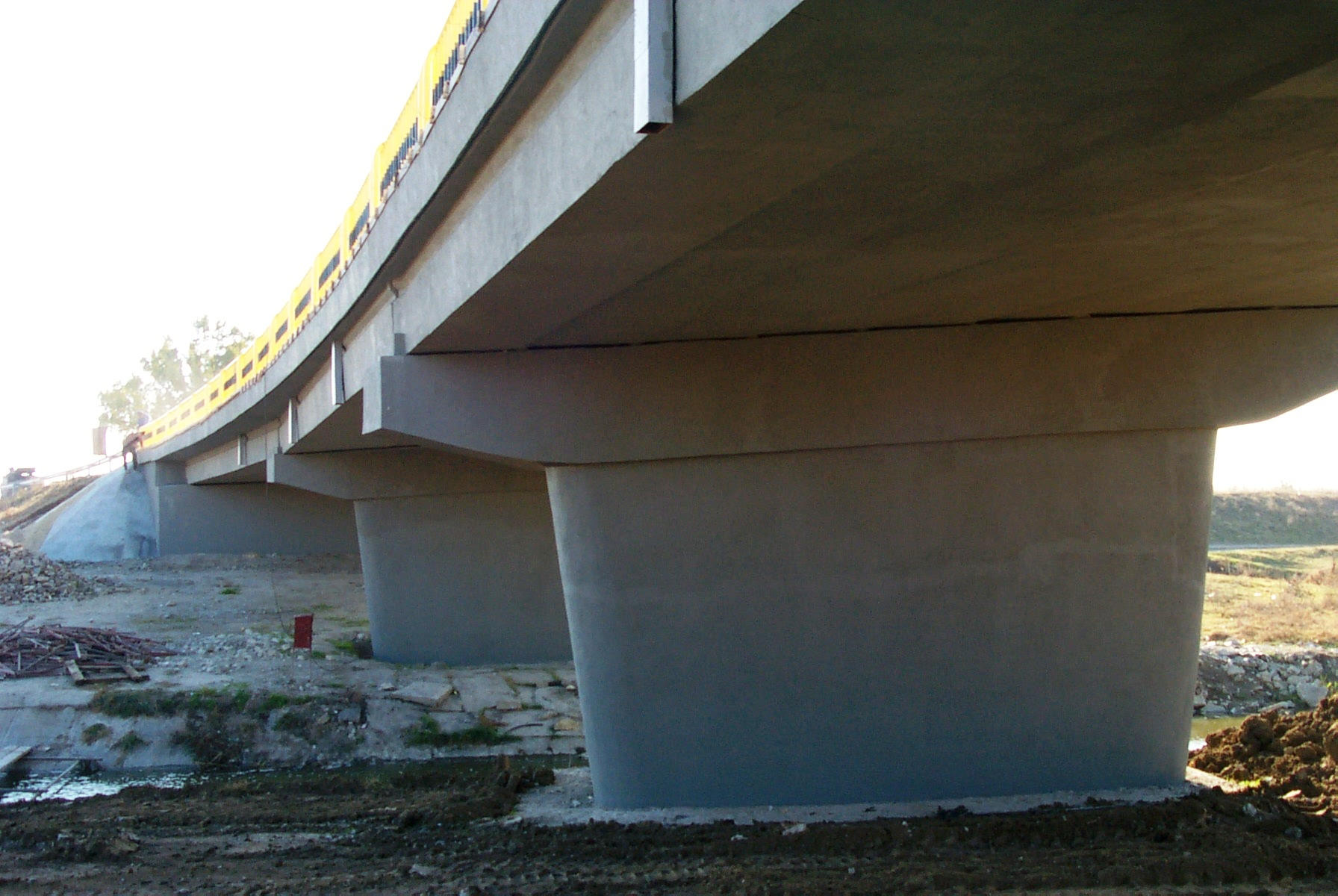 Reparatii pod (DN2), Km. 33 - 028, peste raul Calnistea MAPEI - Poza 24