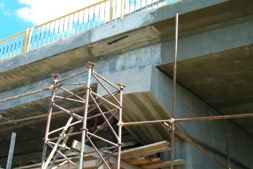 Lucrari de referinta Reparatii pod (DN2), Km. 33 - 028, peste raul Calnistea MAPEI - Poza 10