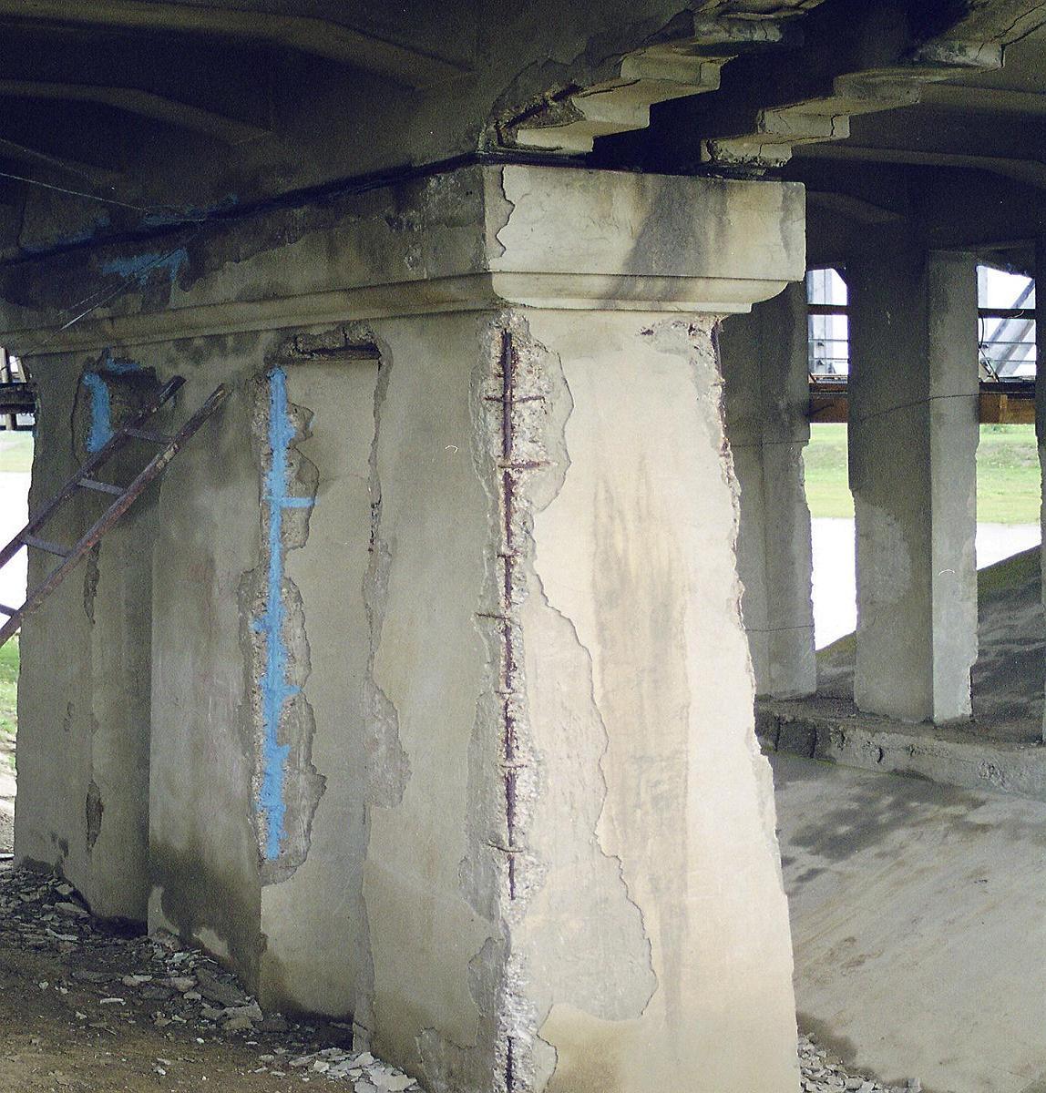 Reparatii pod peste raul Siret MAPEI - Poza 7