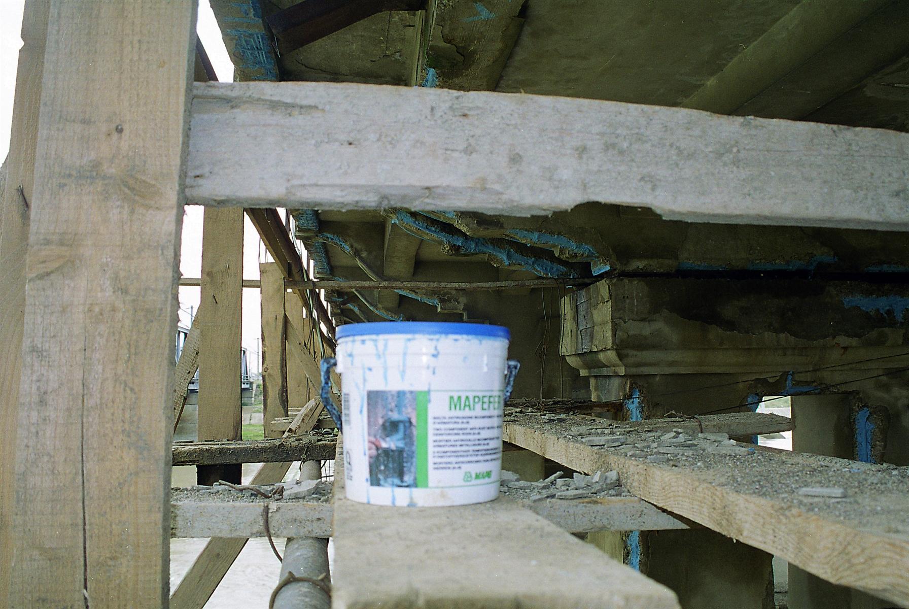 Reparatii pod peste raul Siret MAPEI - Poza 3