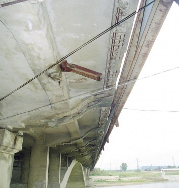 Lucrari de referinta Reparatii pod peste raul Siret MAPEI - Poza 6
