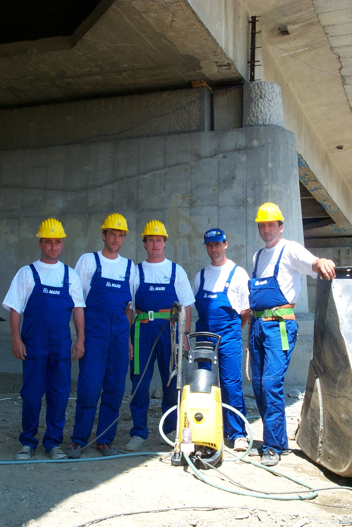 Reparatii pod Roman peste raul Moldova MAPEI - Poza 5