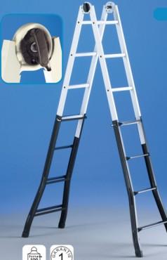 Scari telescopice si cu multipozitionare SVELT - Poza 6