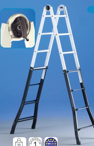 Scari telescopice si cu multipozitionare SVELT - Poza 8