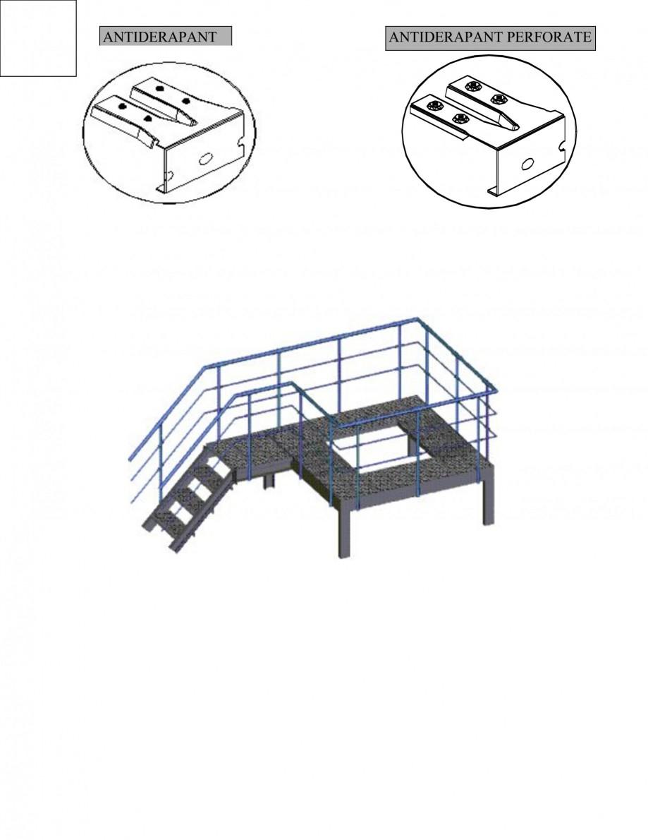 Pagina 2 - Gratar metalic GRIRO TIP 1 Fisa tehnica Romana ul cazanelor;-depozite: scari si rafturi....