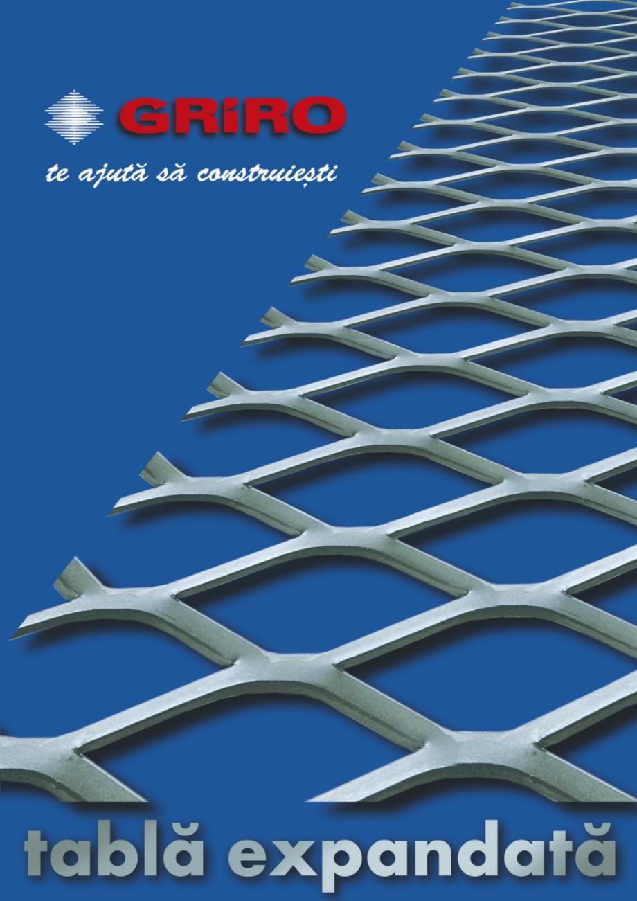 Pagina 1 - Brosura de prezentare lucrari GRIRO Tabla expandata Lucrari, proiecte Romana PLACARE FA ...
