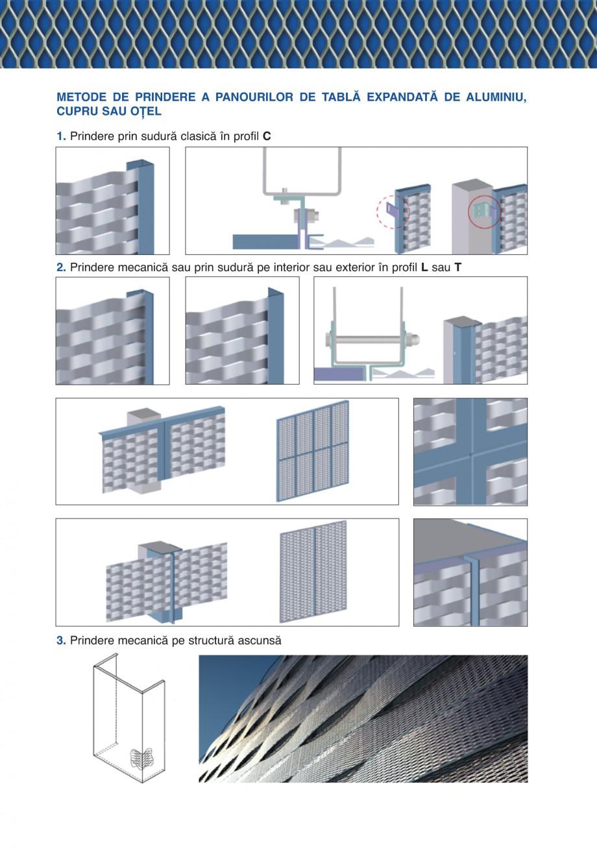 Pagina 9 - Catalog de prezentare GRIRO Tabla expandata Catalog, brosura Romana 6 7 7 6.25 6.25 9.4 8...