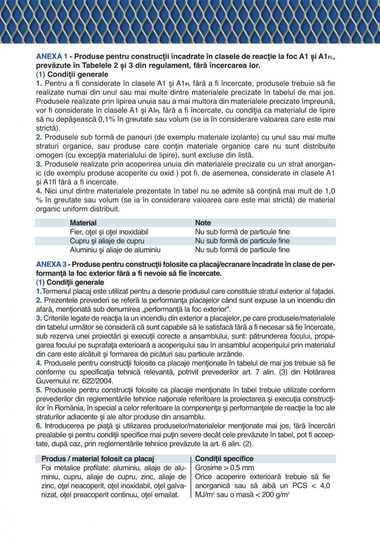 Pagina 11 - Catalog de prezentare GRIRO Tabla expandata Catalog, brosura Romana ) (kg/ml) 6.35 6.50 ...
