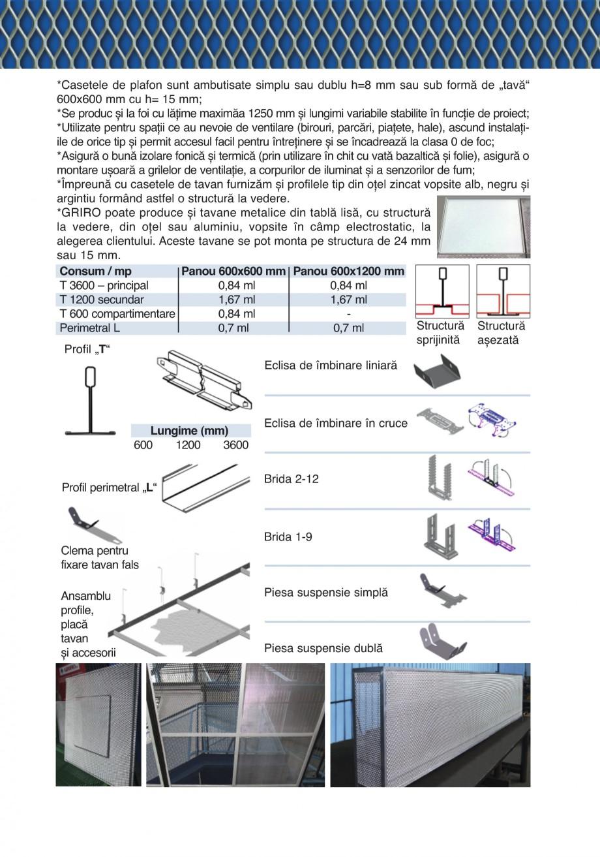 Pagina 15 - Catalog de prezentare GRIRO Tabla expandata Catalog, brosura Romana modulul de torsiune ...