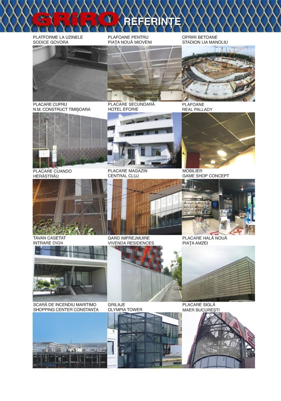 Pagina 22 - Catalog de prezentare GRIRO Tabla expandata Catalog, brosura Romana iduri  Oprire la...