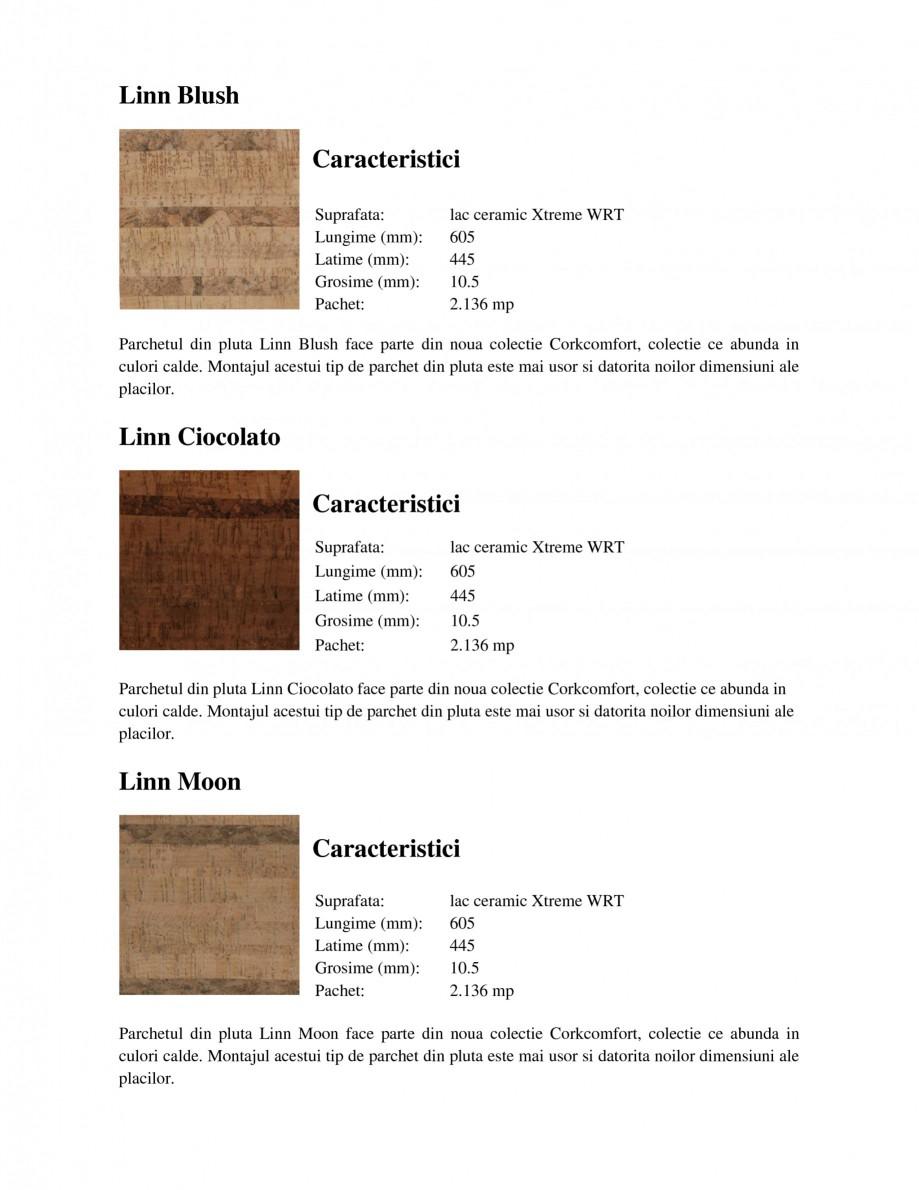 Pagina 1 - Parchet din pluta WICANDERS New Corkcomfort Linn Blush, New Corkcomfort Slate Moccaccino,...