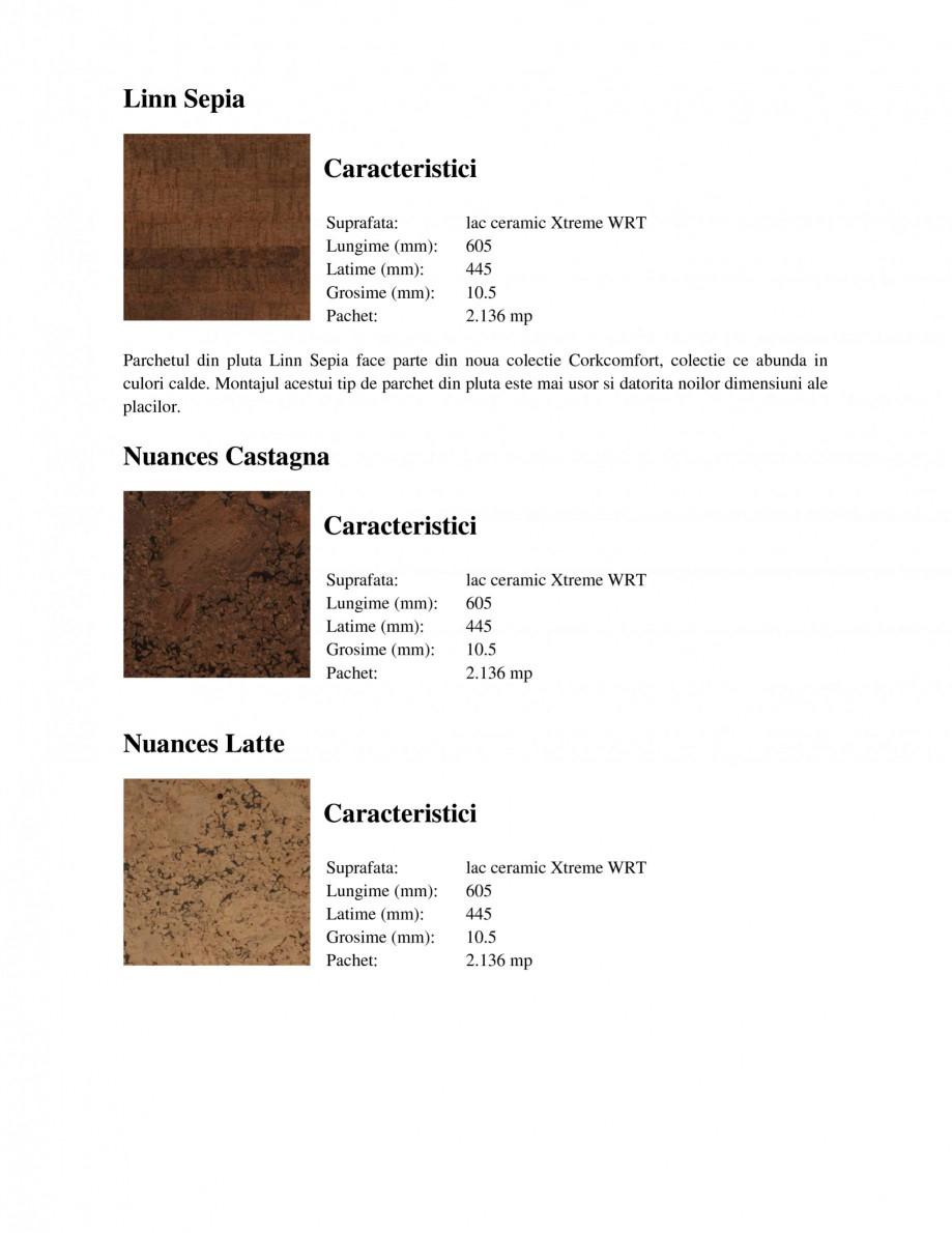 Pagina 2 - Parchet din pluta WICANDERS New Corkcomfort Linn Blush, New Corkcomfort Slate Moccaccino,...