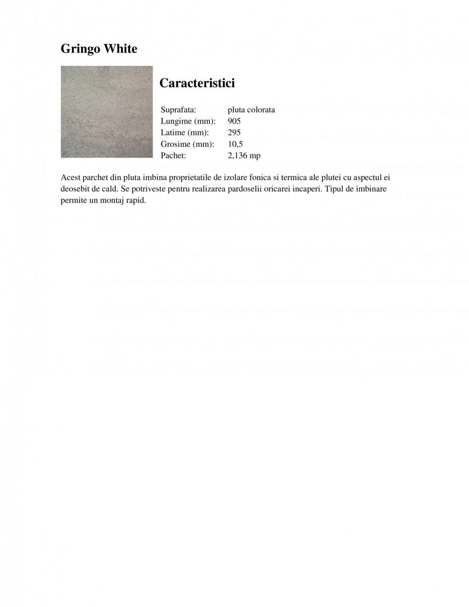 Pagina 2 - Parchet din pluta KROMSTON ColorCork Gringo White, ColorCork Iceberg Cafe, ColorCork...